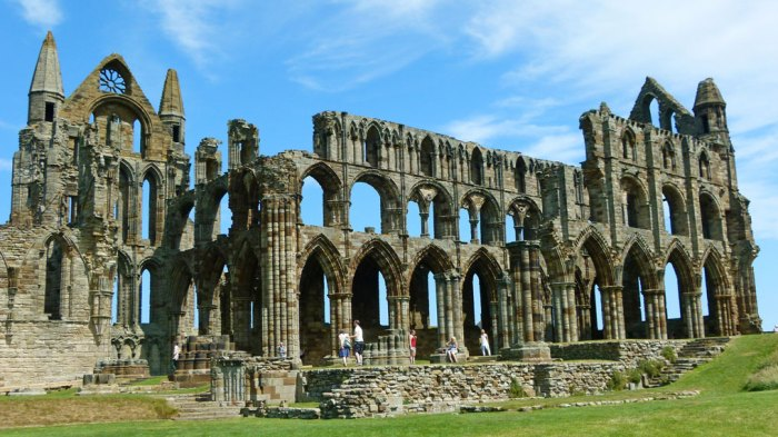 Whitby Abbey, Yorkshire, English Reformation