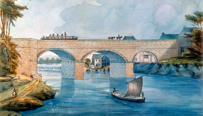 Barton Aqueduct, Bridgewater Canal, industrialisation