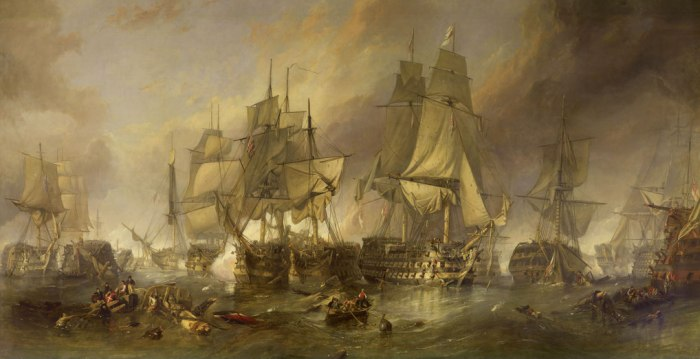 Battle of Trafalgar, British expansion