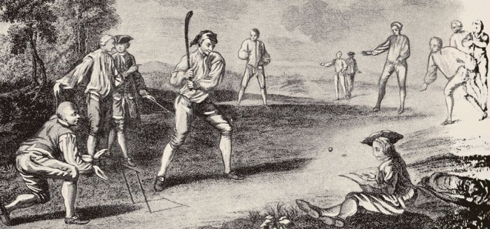 Cricket, history, 18th century