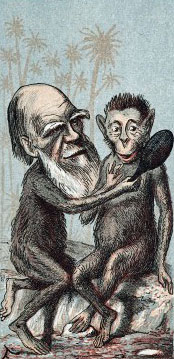 Charles Darwin as an ape, Victorian Britain