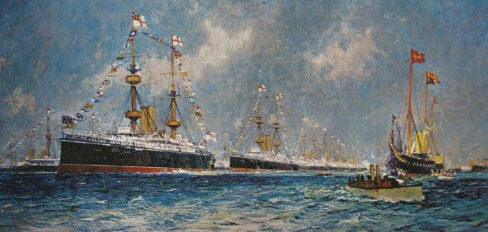 Fleet at Spithead, British Empire