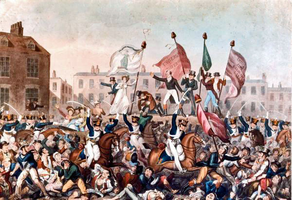 Anniversaries, 2019, Peterloo Massacre