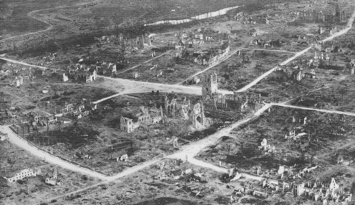 Ypres (Ieper) after the war, Britain and the First World War