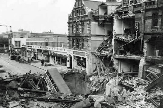 London Blitz, Balham, Second World War
