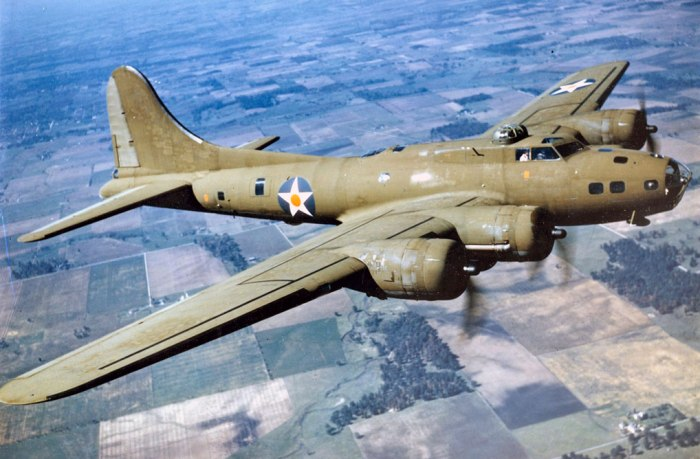 US B-17 Flying Fortress, Second World War