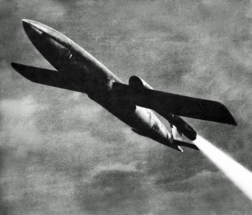 Vi 'Doodlebug' flying bomb, Second World War