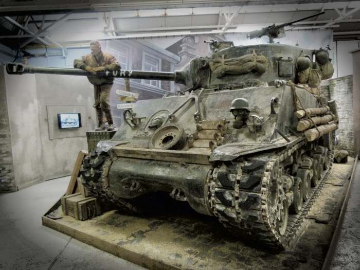 Movie 'Fury', Bovington Tank Museum