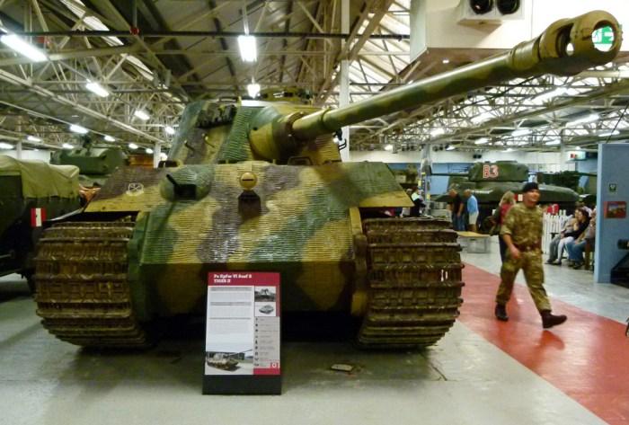 Tiger II, tank, Bovington