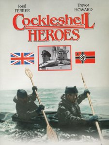 The film of the Cockleshell Heroes, starring Jose Ferrer, Trevor Howard and Anthony Newley, made in 1955