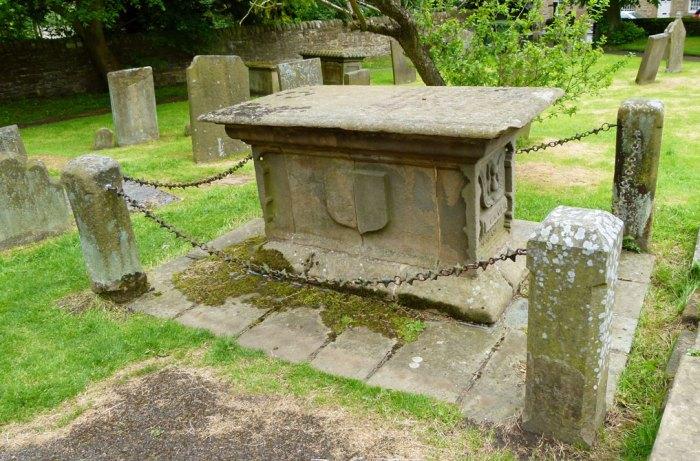 Catherine Mompesson, grave, Eyam