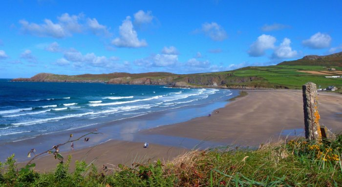 Whitesands Bay, Pembrokeshire, Wales