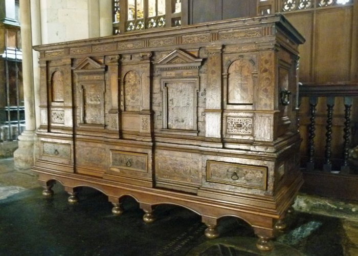 Nonsuch chest, Southwark Cathedral