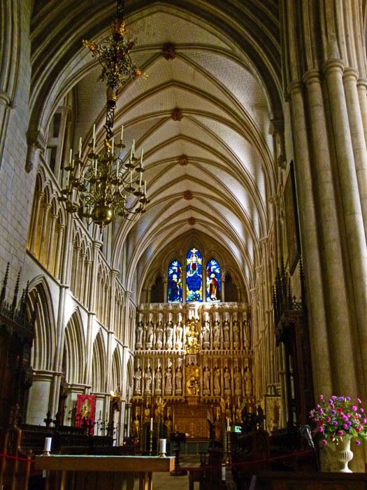 Southwark Cathedral, the choir