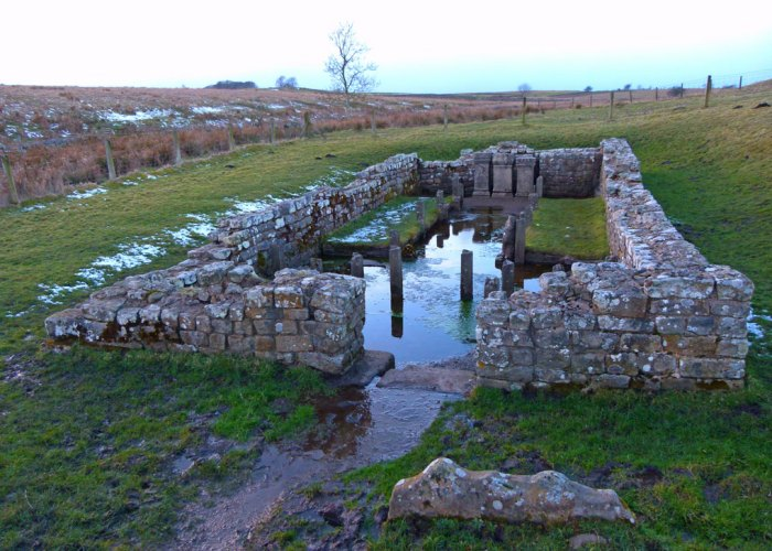 Brocolitia or Carrawburgh Temple of Mithras, Hadrian's Wall, Northumberland