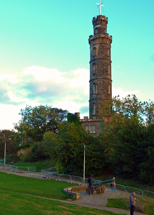 Nelson's Monument on Calton Hill, Edinburgh