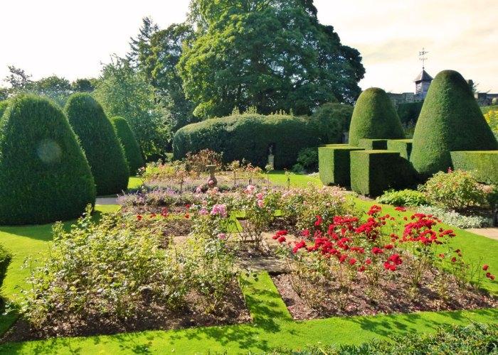 Chirk Castle, gardens