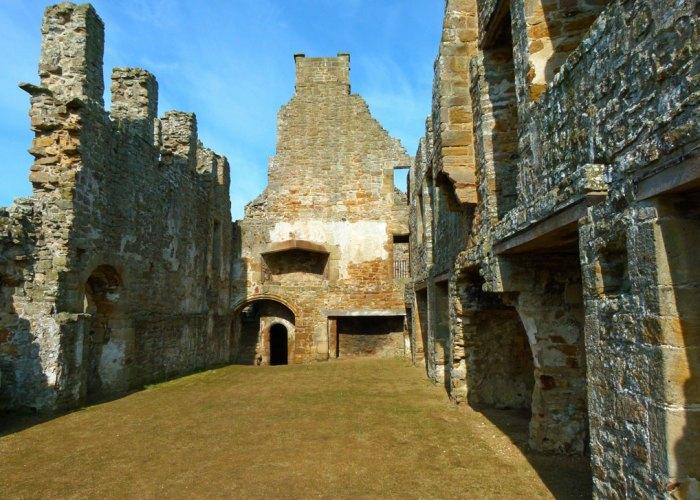 Egglestone Abbey, east range.