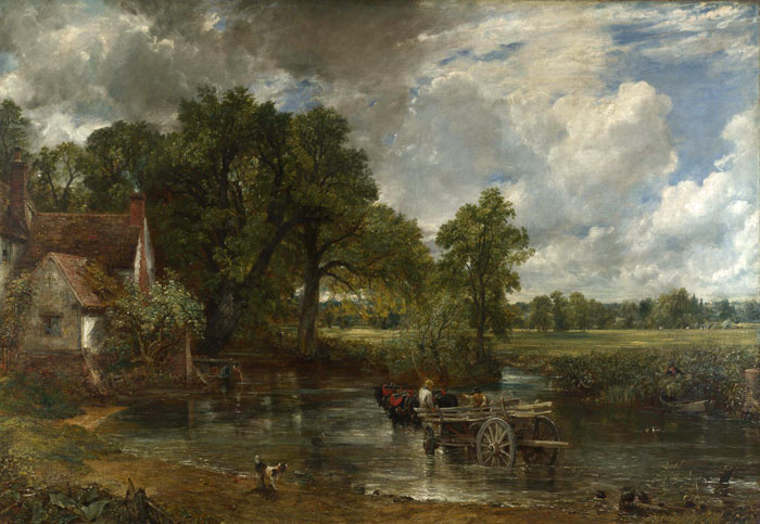 The Hay Wain (1820-21, currently in the National Gallery, London).