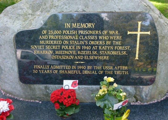 Katyn Polish memorial, Cannock