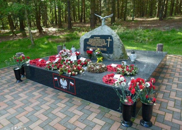 Katyn Polish memorial, Cannock, Staffordshire