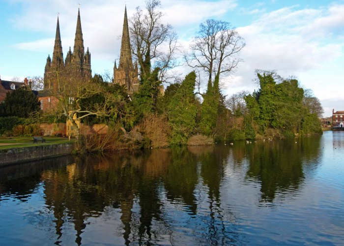 Lichfield Cathedral, Ladies of the Vale, Minster Pool