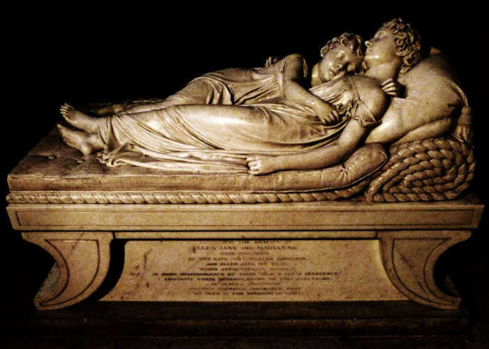 The Sleeping Children - Francis Chantry