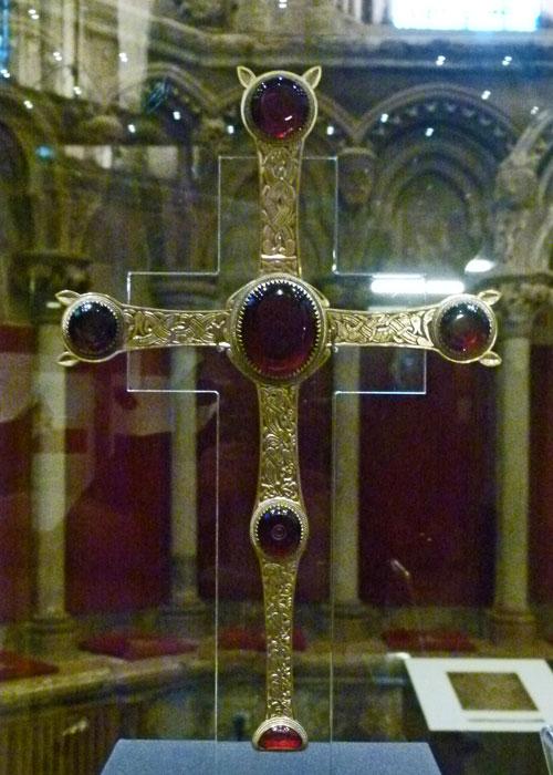 Staffordshire hoard, folding cross
