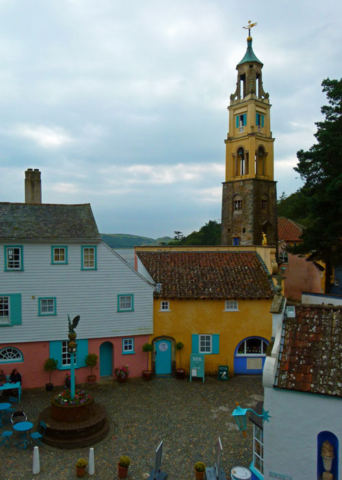 Portmeirion - general view