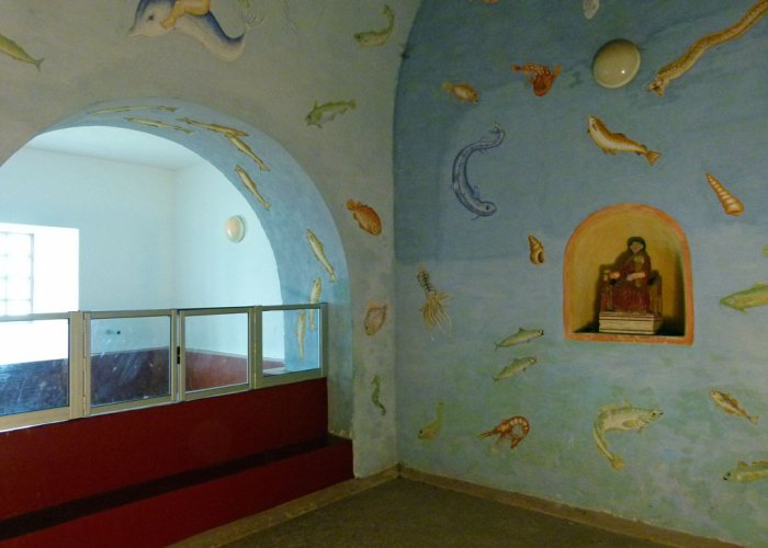 Roman bath house, cold room, Segedunum