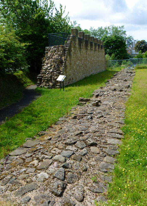 Hadrian's Wall, Wallsend