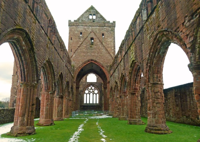 Sweetheart Abbey, Dervogilla, Balliol, Dumfries