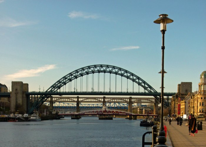 Tyne Bridge, Swing Bridge, High Level Bridge