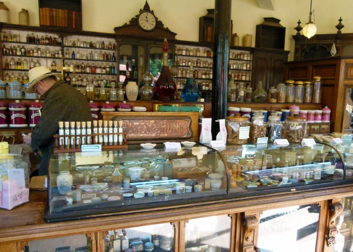 Blists Hill, Victorian, chemist, apothecary