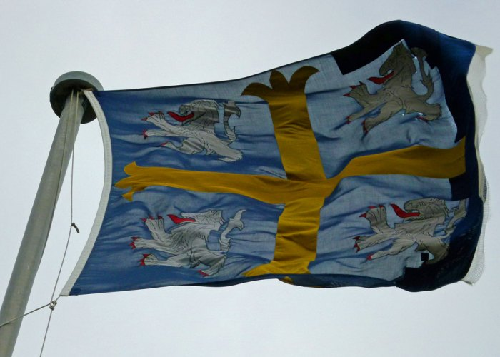 St Cuthbert's flag