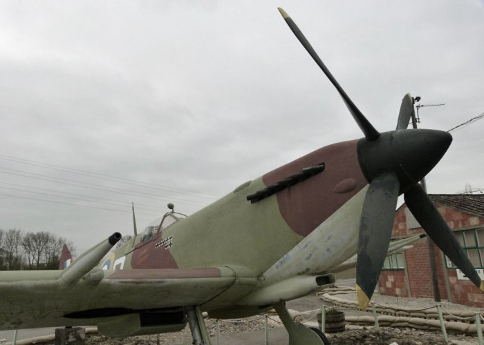 Replica Mark IX Spitfire at Eden Camp