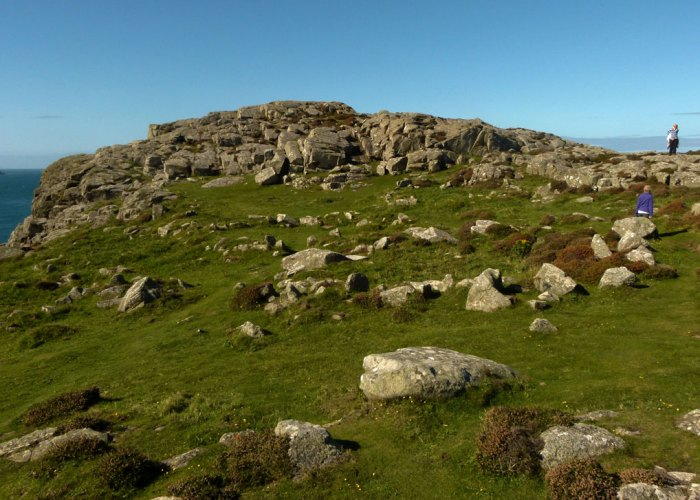 Iron Age village, St David's Head