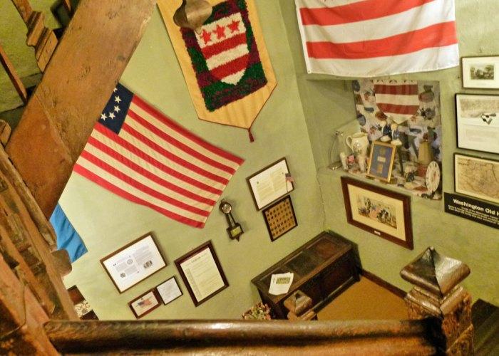Washington Old Hall, US memorabilia.