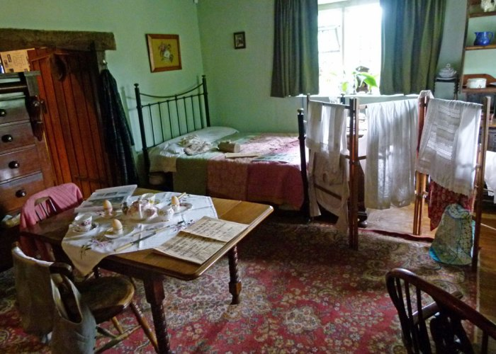 Washington Old Hall - Recreated tenement home