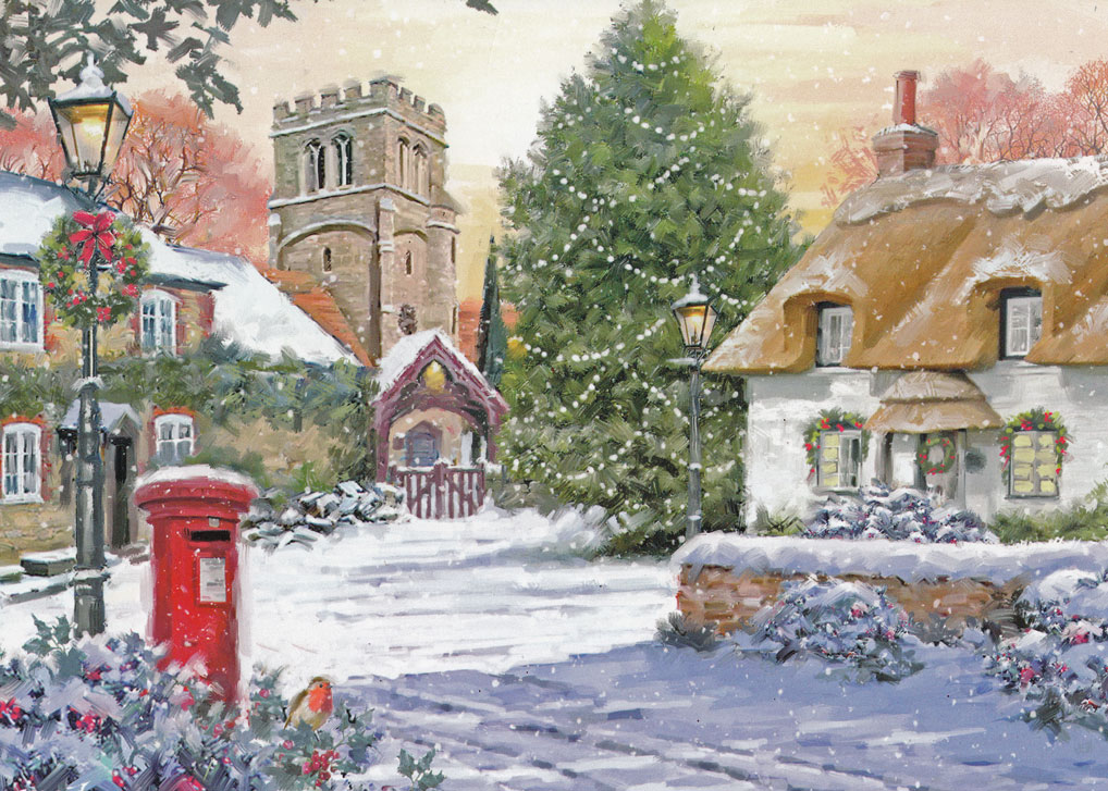 A bit about Christmas cards - A Bit About Britain
