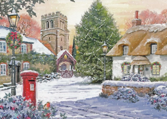 Christmas cards, the tradition, the history