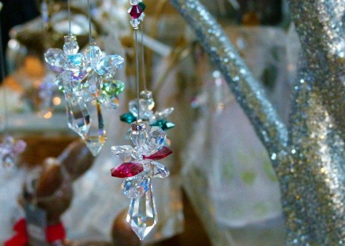 Christmas magic and sparkle