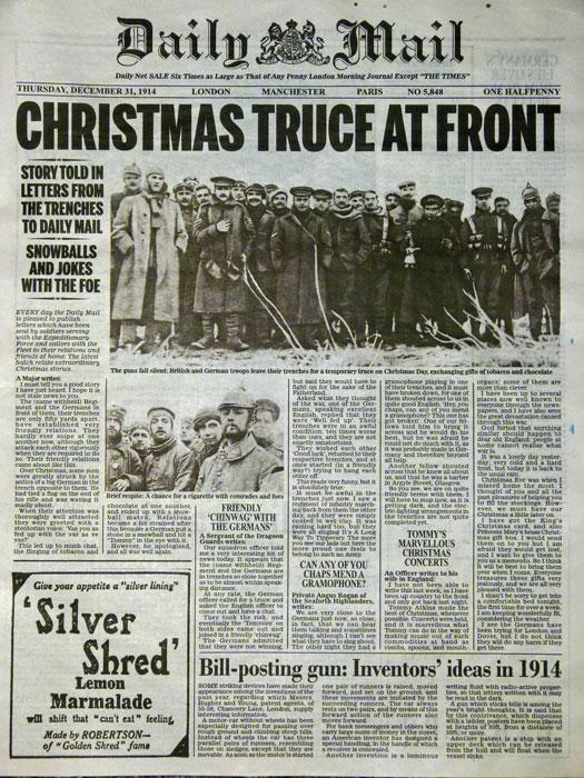Christmas Truce, 1914
