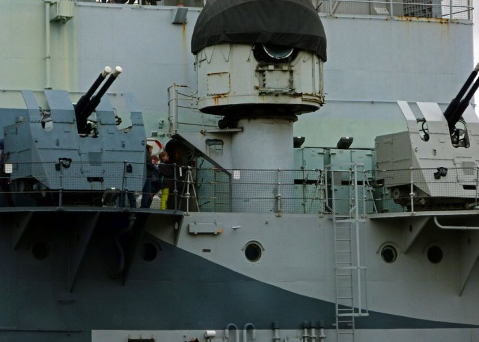 HMS Belfast, London Bridge, IWM