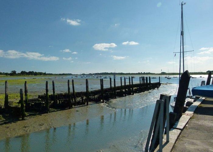 Bosham, quay, Chichester Harbour