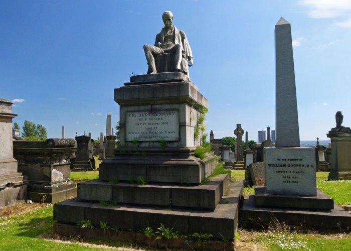 Charles Tennant, Glasgow Necropolis