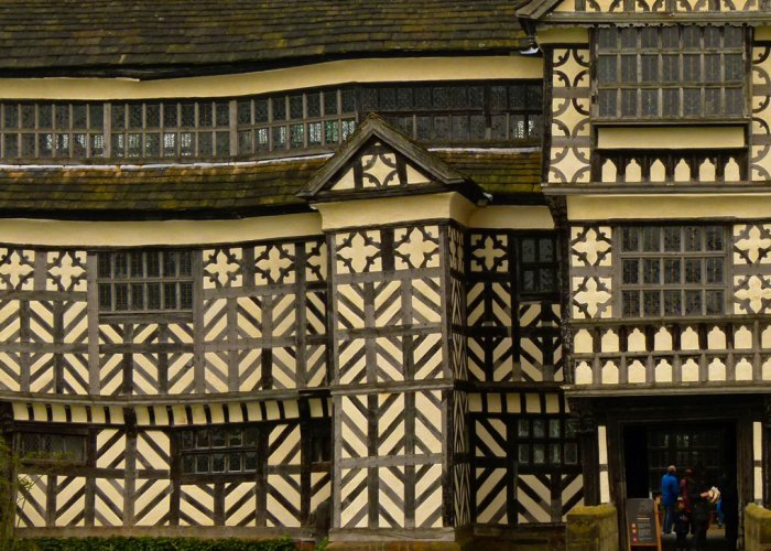 Little Moreton Hall, timber-framed, house, Cheshire