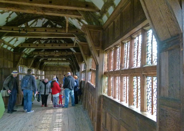 Little Moreton Hall, Tudor, long gallery