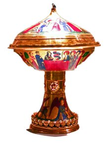 The Saint Agnes Cup, 14th century, made for French royalty