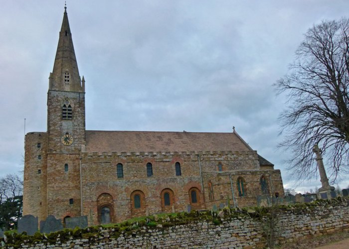 Brixworth, All Saints, Saxon, church, Northamptonshire